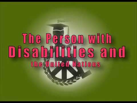 Human Rights of the Disabled   Persons and Legal Aid