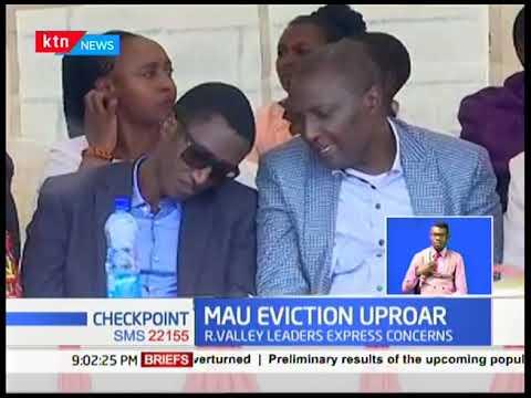 Mau Eviction Uproar: Baringo Senator Gideon Moi calls for dialogue over Mau eviction
