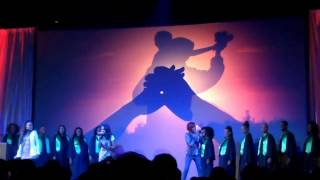 "The McClain Sisters sing ""Rise"" live"