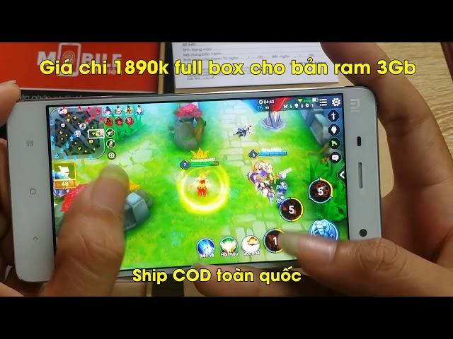 Điện thoại giá rẻ Mi4 chơi liên quân mobile - Xiaomi Mi4