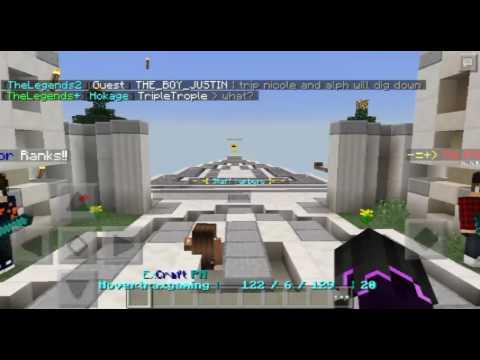 Minecraft PE Server Philippines (ExCraft PH) YouTube