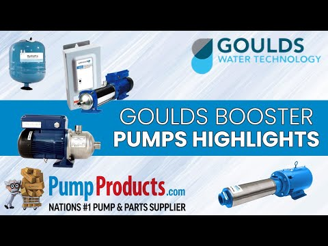 Goulds Booster Pumps Product Highlight
