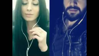 Alexandra burke - hallelujah / arabic-english / karaoke - smule / ali fayad - darya