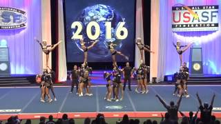 california all stars lady bullets worlds 2016 semi finals