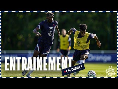 Le replay de l'entraînement des Bleus jeudi 3 juin 2021 (Clairefontaine)
