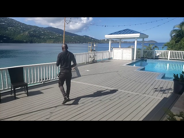 Major Laser DJ Snake Lean On Sax Beach Wedding Sand Dollar St Thomas Virgin Islands