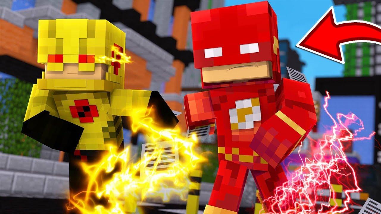 Minecraft The Flash Mod The Flash Zoom Savitar Wally More