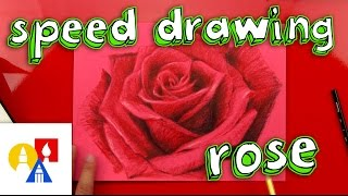 Rose Speed Drawing