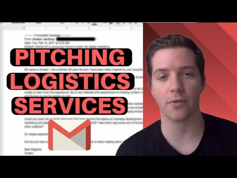 How To Pitch Logistics Services? (w/ Script) - 📧Cold Email Teardown📧