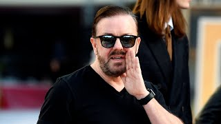 Ricky Gervais gives the 'cancel culture cretins' a massive serve