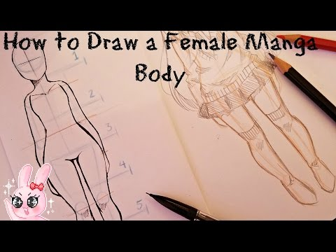 How To Draw Female Body