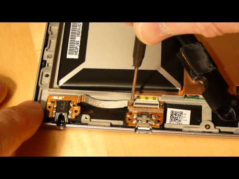 Replacing the USB charger port on a Nexus 7 1st Generation tablet