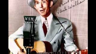 Watch Hank Williams Never Again will I Knock On Your Door video