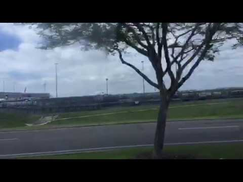 Brisbane Airport Shuttle Bus Route T To DFO/Skygate