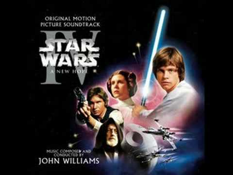 Star Wars Episode 4 Soundtrack - TIE Fighter Attack