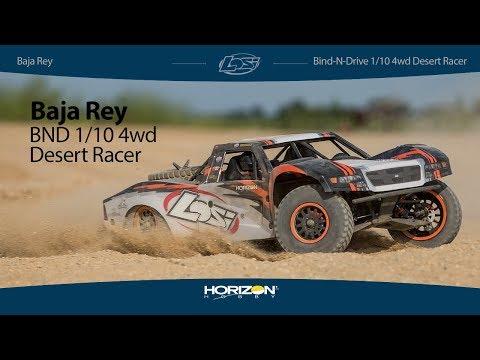 Losi® Baja Rey BND: 1/10 4wd Desert Racer - 동영상