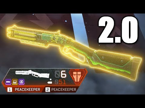 The New Peacekeeper 2.0 is OP in Apex Legends