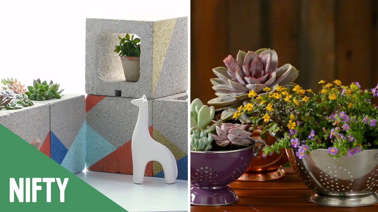 5 Small Space Planters For Your Home