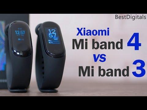 Обзор Xiaomi Mi band 4 Global vs Mi band 3: стоит ли обновляться?
