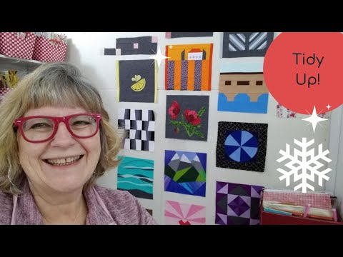Have you wanted to see the process of designing a layout? And on my video today is Tidy Up!