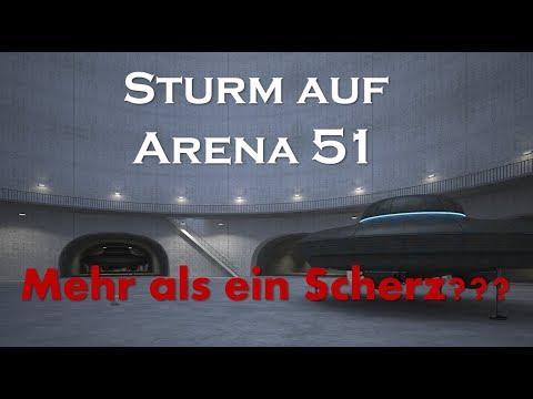 Sturm auf Arena 51 - Mehr als ein Scherz??? ????