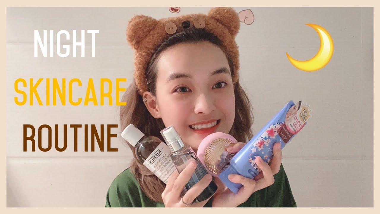 [Daily Vlog] Các bước dưỡng da ban đêm – Night Skincare Routine