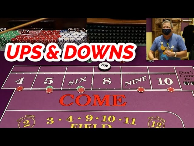 🔥 UP AND DOWN 🔥 30 Roll Craps Challenge - WIN BIG or BUST #55