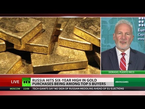 Russia chooses gold over dollar