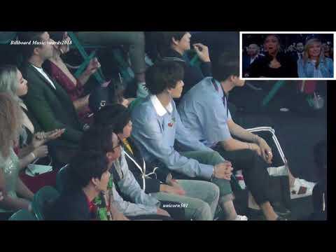 180520 BTS reaction to John Legend @BBMAs