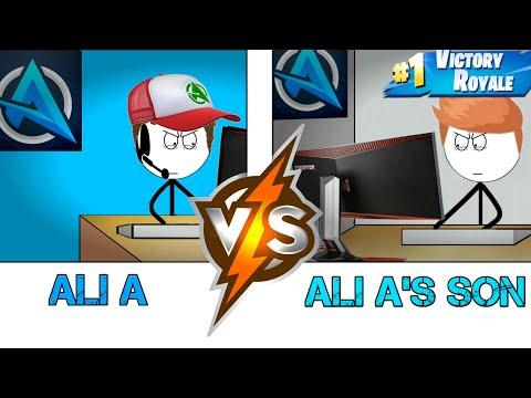 Ali A VS Ali A's son in the year 2050.