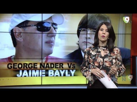 Jaime Bayly VS George Nader - El Informe con Alicia Ortega