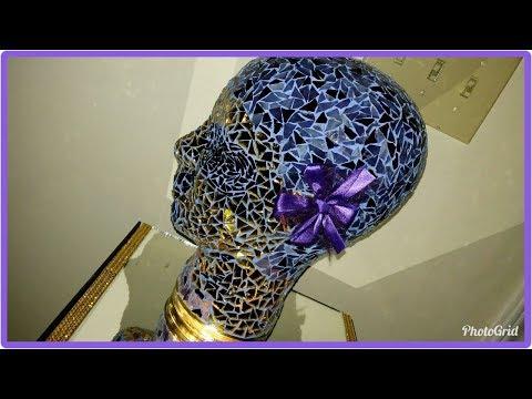 Mosaic Hope (mannequin head)