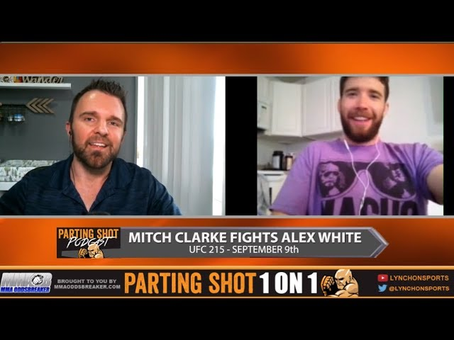 UFC 215's Mitch Clarke talks Alex White fight, full camp at Jackson/Wink and video games