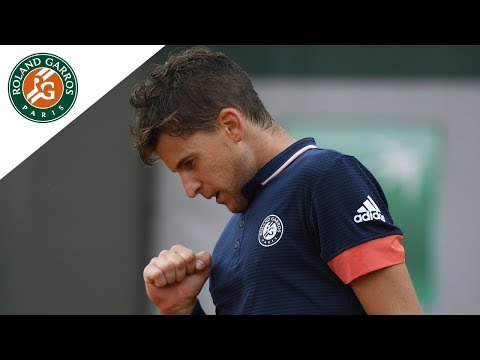 Dominic Thiem vs Kei Nishikori - Round 4 Highlights I Roland-Garros 2018