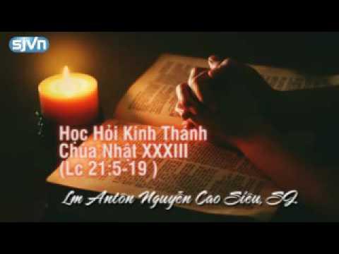 Học hỏi Phúc Âm Chúa Nhật 33 thường niên Năm C