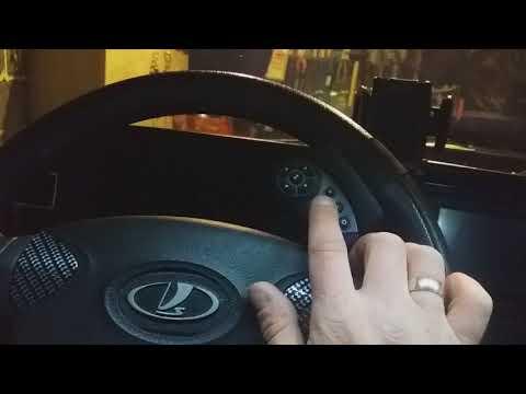 Универсальный пульт магнитолы на руль с Китая.