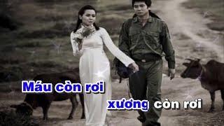 Karaoke Lời Người Ra Đi - Sáng tác Trần Hoàn