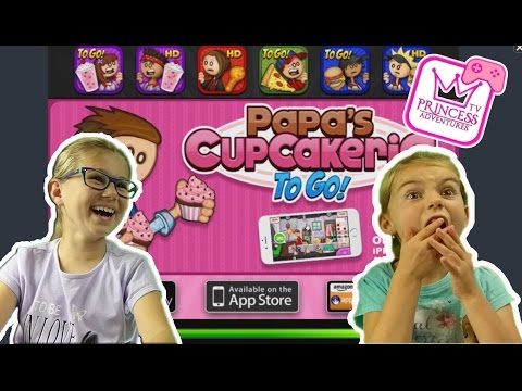 Papa's Cupcakeria Free Online Flash Game for Kids NEW GAMING CHANNEL