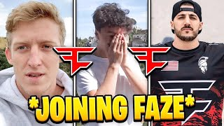 Top 10 *BEST* Joining FaZe Clan Reactions