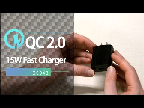 CHOETECH C0043 fast charger quick charge 2.0 adaptive fast charging