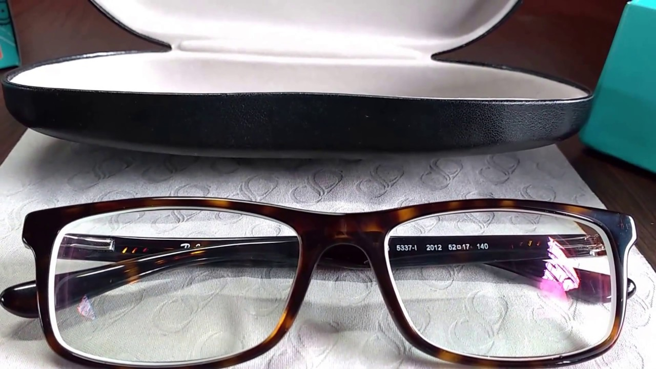 eb8e2989c6 Unboxing Ray-Ban RX 5337 Eyeglasses