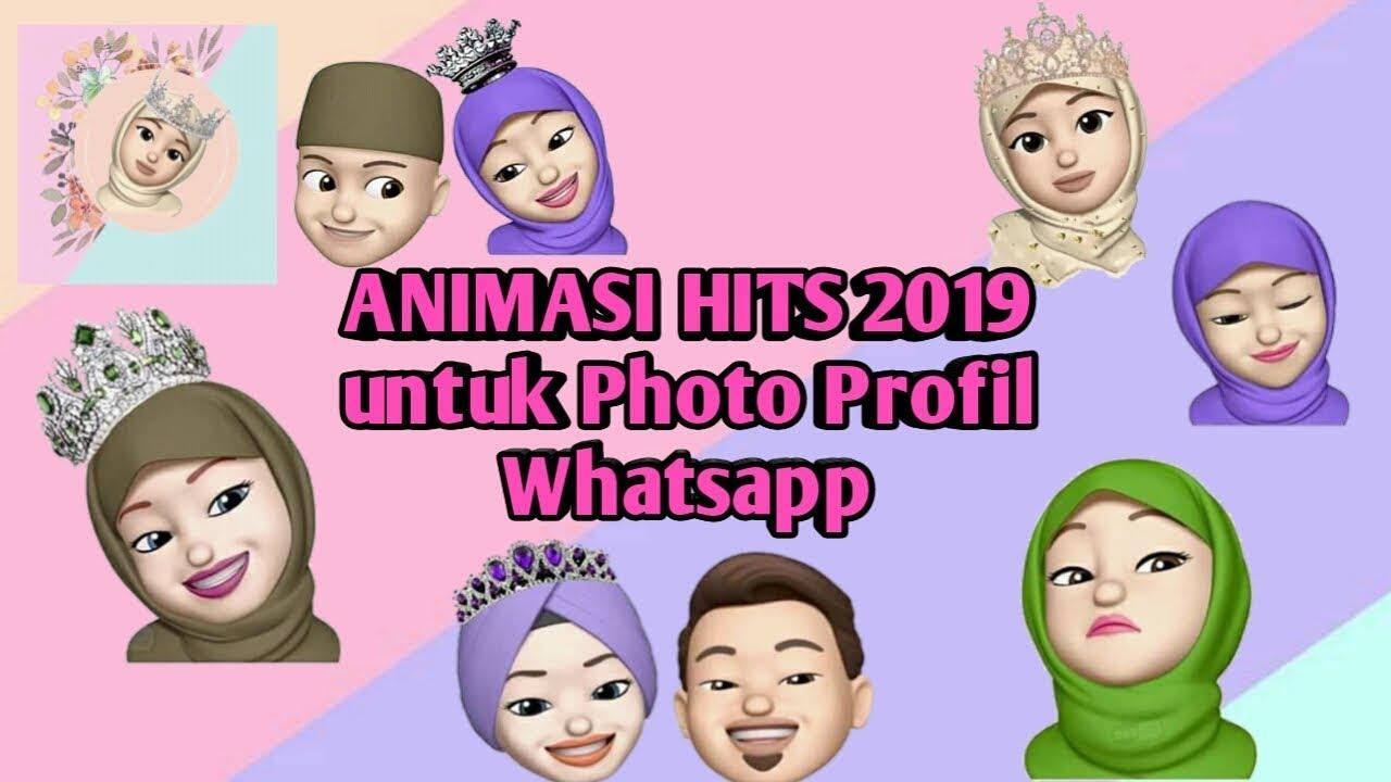 Animasi Hits 2019 Untuk Foto Profil Whatsapp Animasi2019 Animasilucu Whatsapp Youtube