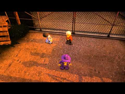 LEGO City Undercover (Wii U) - Complete Playthrough - Chapter 8 - 'The Rescue'