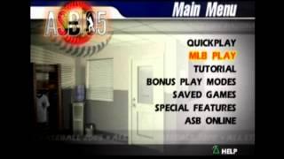 All Star Baseball 2005 full soundtrack