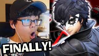 REACTING TO JOKER GAMEPLAY REVEAL - Smash Ultimate 3.0 TRAILER (New Stage Builder & Mementos Stage)