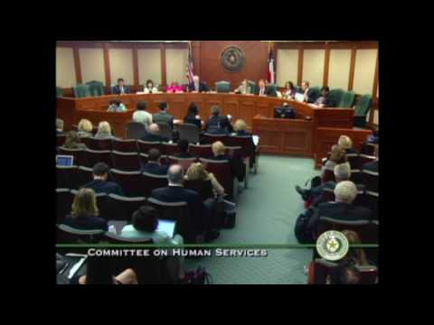 Angel Cook Testifying on Tx house bill 1549 against cps home visits