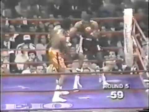 Sugar Ray Leonard vs Larry Bonds
