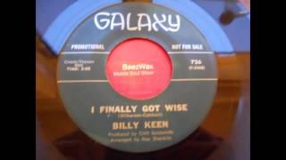 billy keen - i finally got wise