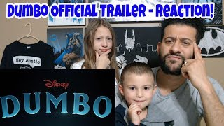 Dumbo   Official Trailer Reaction! #ClarkCrewReviews