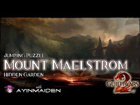 ★ Guild Wars 2 ★ - Jumping Puzzle - Mount Maelstrom (Hidden Garden)
